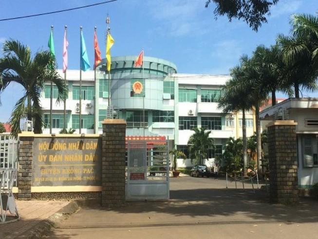Khiển trách một tỉnh ủy viên và một chủ tịch huyện ở Đắk Lắk