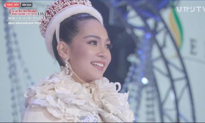 Người đẹp Thái Lan đăng quang Hoa hậu Quốc tế 2019