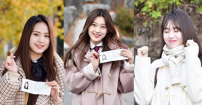 Dàn sao xinh đẹp Idol Kpop đi thi đại học