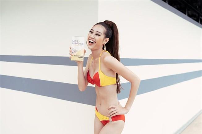 Khánh Vân xuất sắc đoạt giải Best catwalk Hoa hậu Hoàn vũ