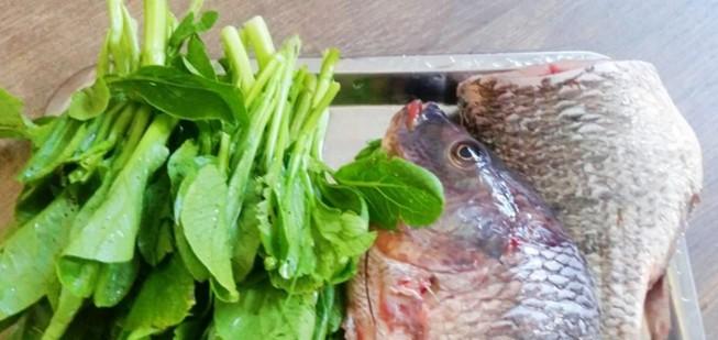 Thử canh rau cải cá rô đi nào!