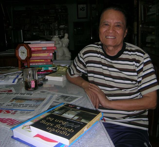 Nhà văn, nhà báo Trần Thanh Phương - một người hiền đã ra đi