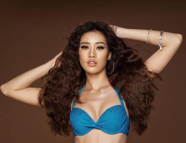 Hoa hậu Khánh Vân với bikini gợi cảm trên trang Missosology