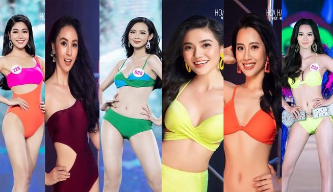 Ngắm người đẹp có vòng 3 khủng vào chung kết Hoa hậu Việt Nam