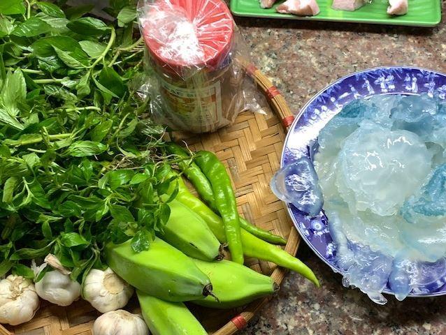 Biến tấu của mì Quảng xứ Quảng còn có món mì sứa