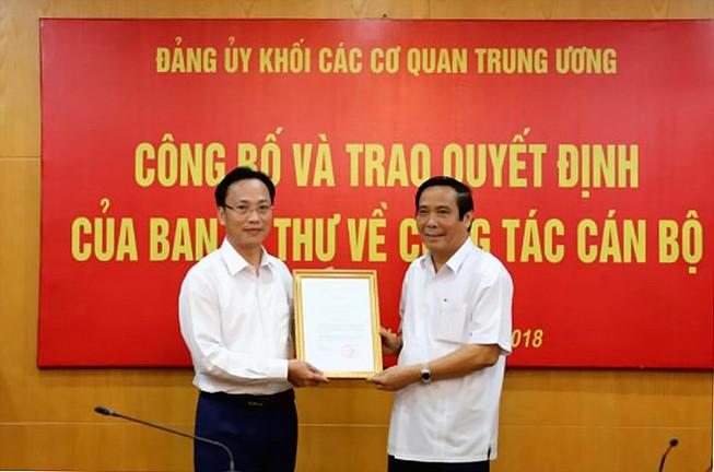 Triển khai quyết định của Ban Bí thư về công tác cán bộ