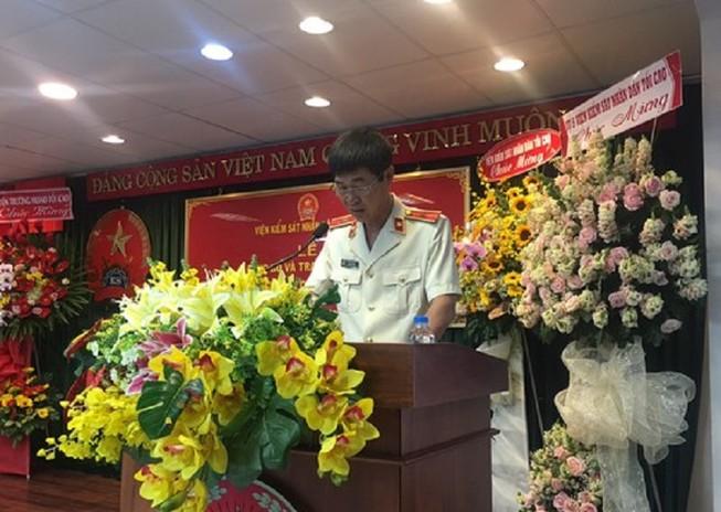 VKSND TP.HCM có phó viện trưởng mới