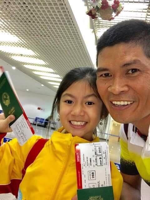 Ái nữ tay đua Mai Công Hiếu đoạt 2 HCĐ cờ vua thế giới