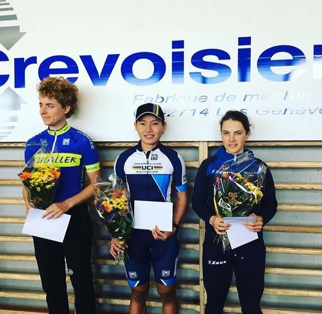 Nguyễn Thị Thật giành chiến thắng chặng đua ở Thụy Sĩ