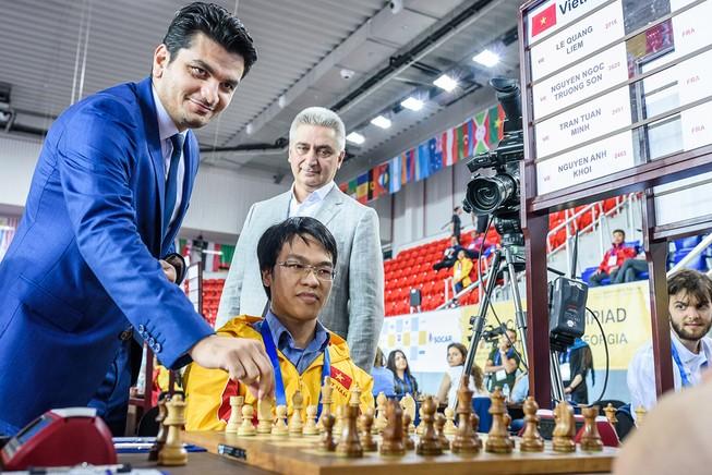 2 đội tuyển Việt Nam nhận trận thua đầu tiên tại Olympiad