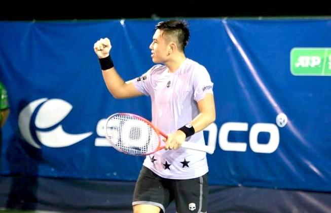 Hạ đối thủ Đức, Lý Hoàng Nam tiến vào vòng 2 Việt Nam Open