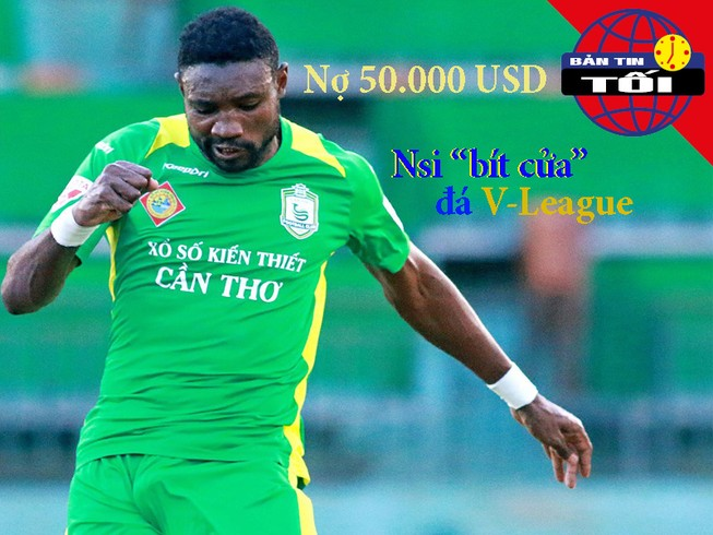 V-League khai mạc, ngoại binh Cameroon đối mặt án phạt