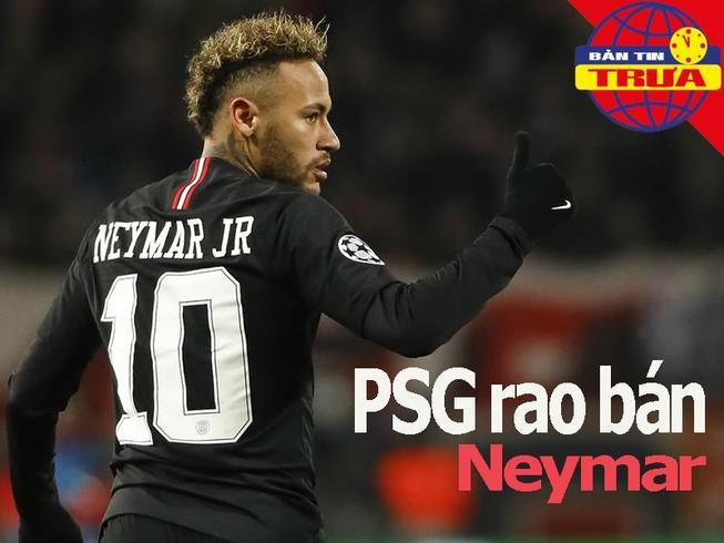 PSG rao bán Neymar; Federer trước trận thắng Wimbledon thứ 100
