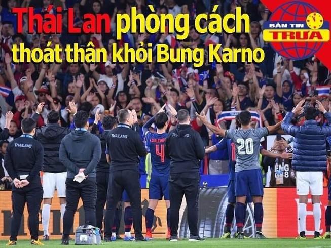 Thái Lan ngừa cách thoát thân cho CĐV khỏi Bung Karno
