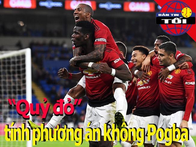 'Quỷ đỏ' mất Pogba ở đại chiến Arsenal; Mourinho tiếc cho MU