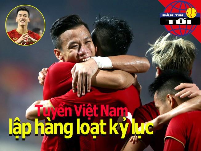 Việt Nam lập hàng loạt kỷ lục; 'Đứa con thần gió' rời Đà Nẵng