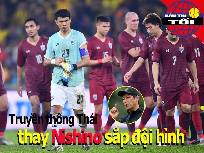 Báo chí Thái Lan thay Nishino xếp đội hình đại chiến Việt Nam