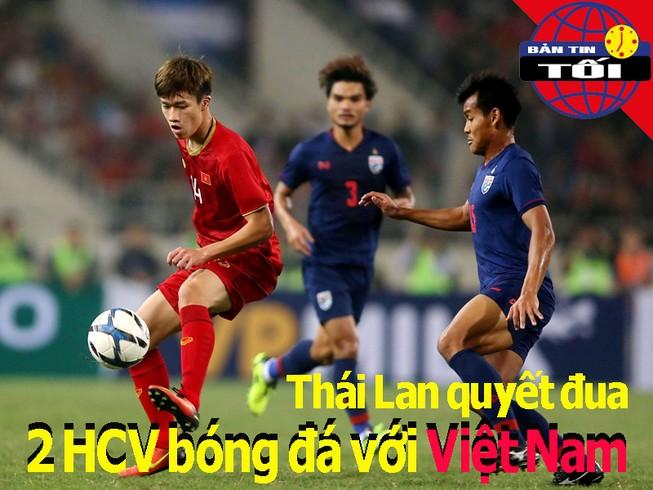 Thái Lan quyết đua 2 HCV bóng đá với Việt Nam; Chỉ tiêu 65 HCV