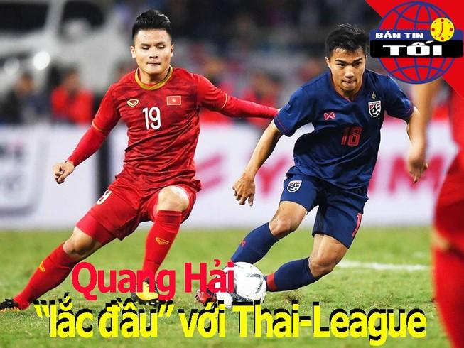 Quang Hải 'lắc đầu' về Thai-League; Tú Chinh bị đe dọa HCV
