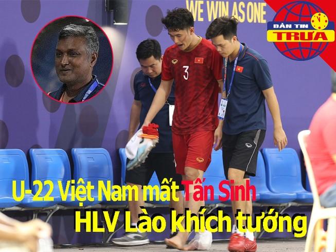 Việt Nam mất Tấn Sinh, HLV Lào khích tướng; Văn Lâm sang Nhật?