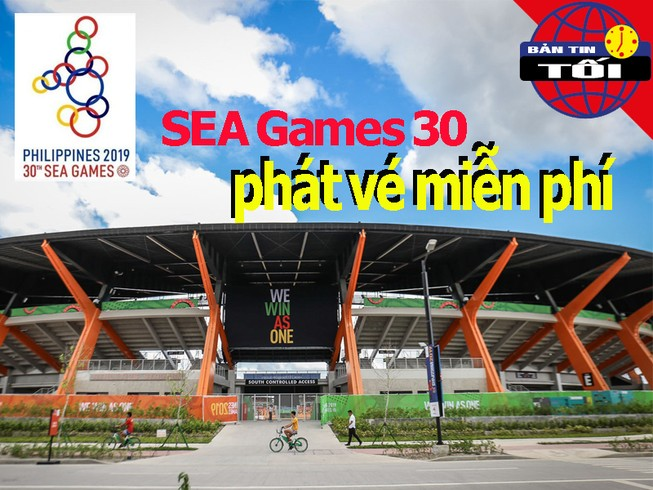 SEA Games 30 miễn phí vé ngoài bóng đá, bóng rổ và bóng chuyền