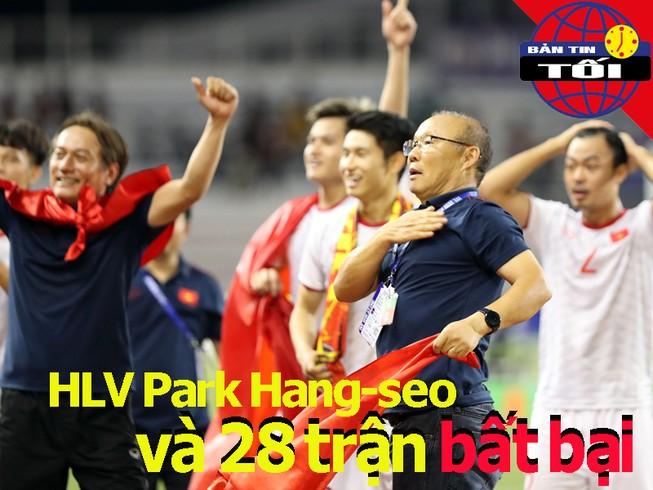 Ông Park bất bại 28 trận ở khu vực; Quang Hải vào đề cử châu Á