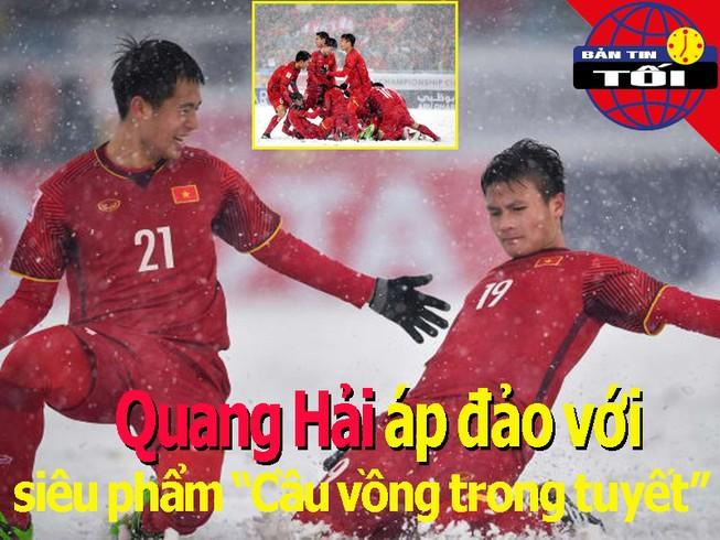 Quang Hải áp đảo với cầu vồng trong tuyết; Tiến Dũng về TP.HCM