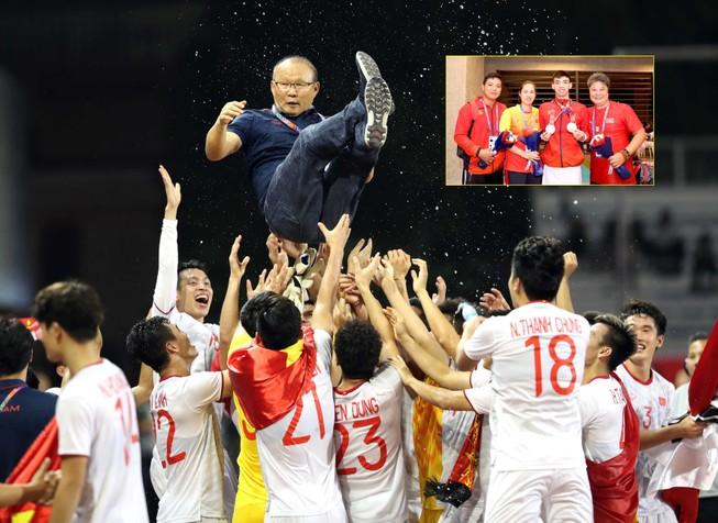 Thầy Park tranh 'Oscar thể thao' với HLV của Huy Hoàng
