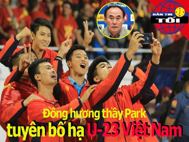 HLV Hàn Quốc tuyên bố hạ Việt Nam; Thầy Park tiếc về Văn Hậu