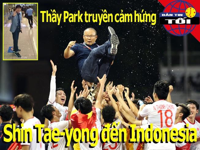 Thầy Park truyền cảm hứng giúp HLV Shin Tae-yong dẫn dắt Indo