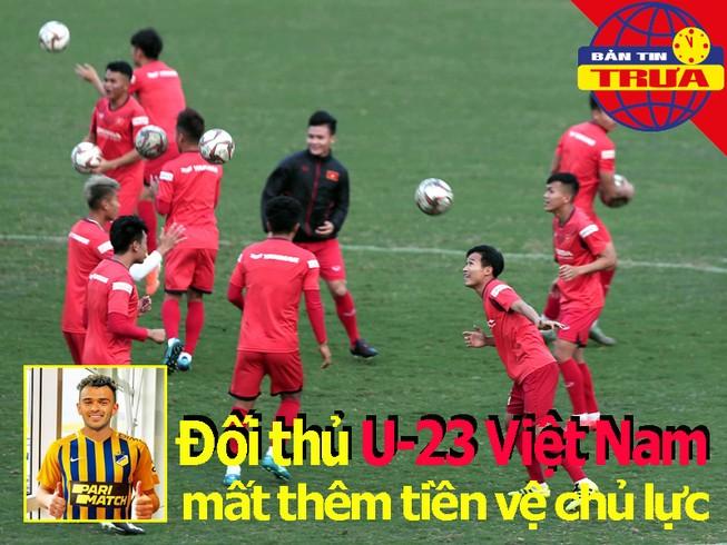 Đối thủ của U-23 Việt Nam mất thêm chủ lực; Mourinho ca thán