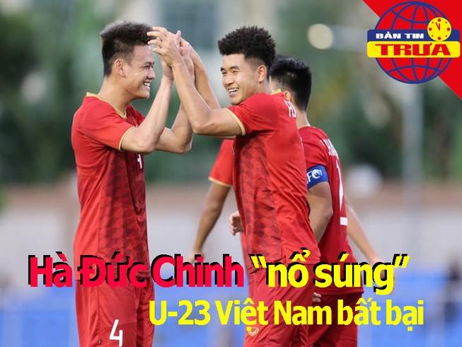 Đức Chinh 'nổ súng', U23 Việt Nam bất bại; Nishino nhận áp lực