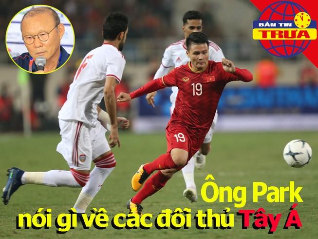 Ông Park nhận định các đối thủ Tây Á; 'Messi Thái' đến châu Âu