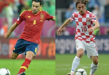 Xavi và Modric, hai kiến trúc sư trên sân cỏ