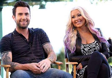 Adam Levine phủ nhận tin ghét bỏ Christina Aguilera