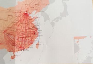 Air China phổ biến ấn phẩm in đường lưỡi bò