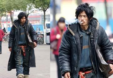"""Dựng phim về """"chàng ăn mày quyến rũ nhất Trung Quốc"""""""