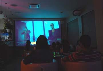 Cà phê phim 3D giá rẻ ở Sài Gòn