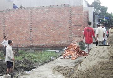 Lại rộ nạn xây nhà không phép