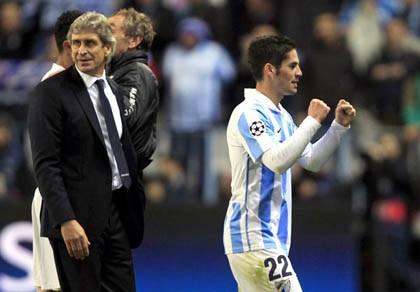 UEFA tha bổng, Malaga vẫn bất an