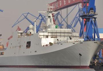 Chiến hạm lớn nhất Trung Quốc hạ thủy