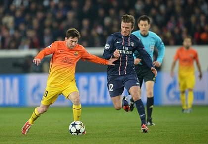 Beckham giải nghệ là vì... Messi