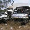 Bình Thuận: Xe khách đâm nhau, 2 người chết, 14 người bị thương