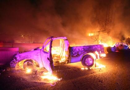 Xe chở dầu ở Mexico phát nổ, 24 người chết