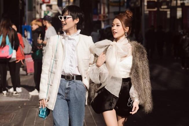 Sam bất ngờ hội ngộ mỹ nhân Oh Yeon Seo ở Hàn Quốc