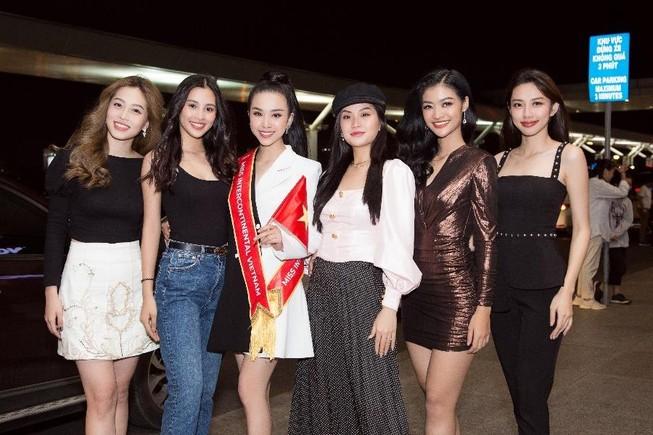 Thúy An lên đường sang Ai Cập dự thi Miss Intercontinental