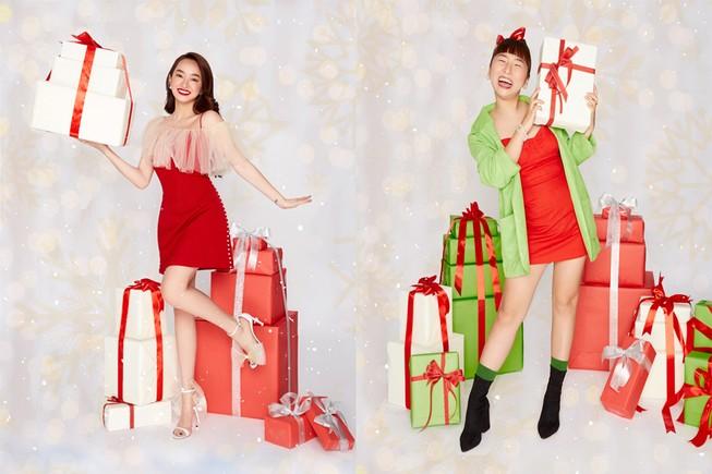 Kaity Nguyễn cùng hội chị em tụ họp dịp cuối năm đón Noel