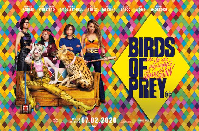 6 gương mặt vàng trong làng thác loạn từ 'Birds Of Prey'