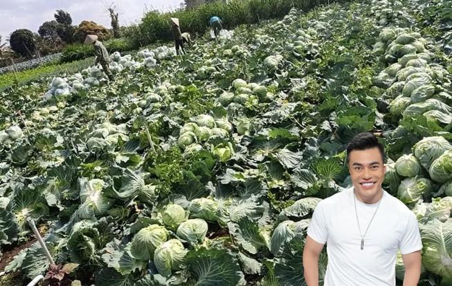 Lê Dương Bảo Lâm giải cứu nông sản giữa mùa dịch COVID-19