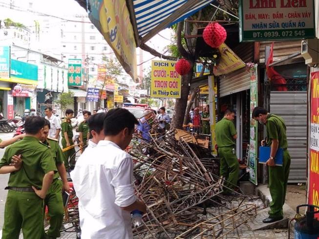Cháy tiệm đồ cưới 3 người tử vong, nghi do chập điện